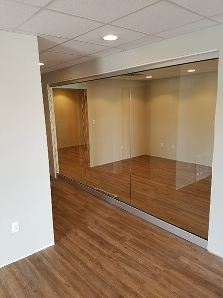 Royal Glass can install your internal glass wall partitions in North Central West Virginia.